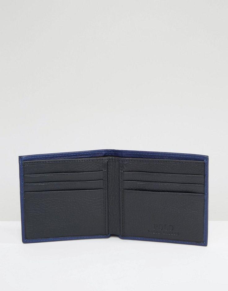 Image 4 ofPolo Ralph Lauren Leather Billfold Wallet