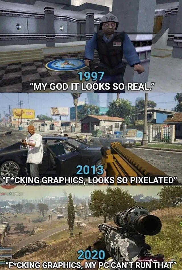 Gaming Graphics Meme Funny Gaming Memes Gaming Memes Memes