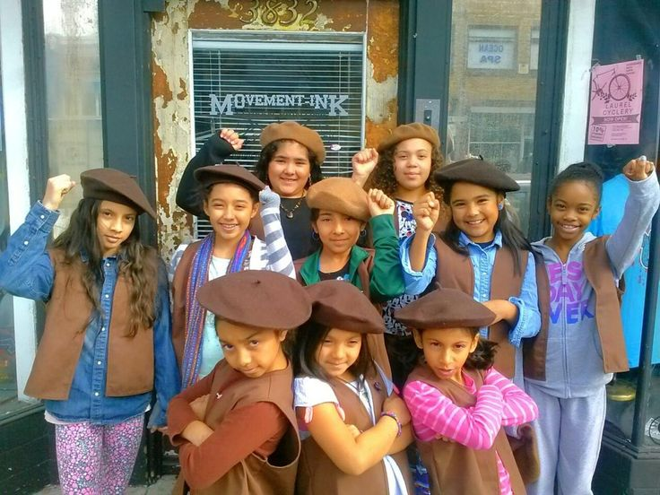 Teen girl scout group party can discussed