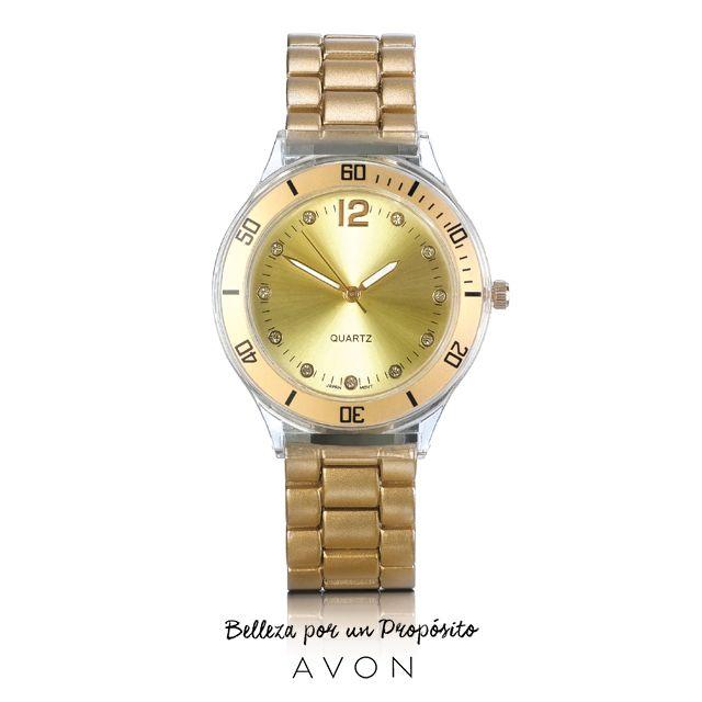 ¡El tiempo es oro! Ya es hora de resaltar tu glamour.