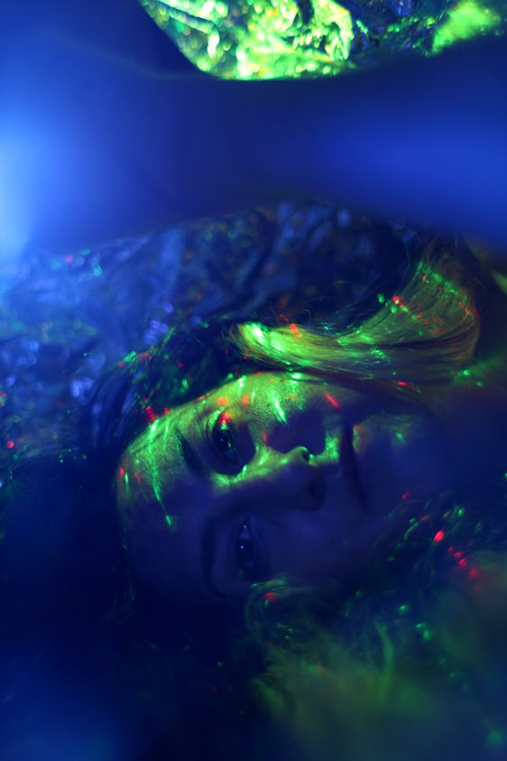 long exposure photography, selfie series by Zornitsa Stoyanova
