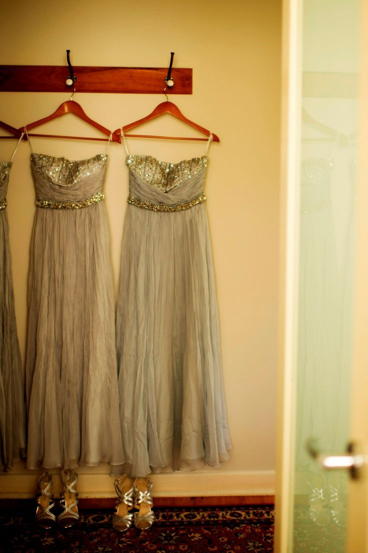 My bridesmaid dresses at Longview Vineyard. Photographed by Shona Henderson Photography. To see the full story or publish your wedding, visit Wedding Vault.
