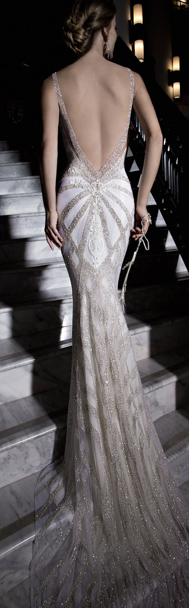 Galia Lahav : Tales of the Jazz Age Bridal Collection - Belle The Magazine