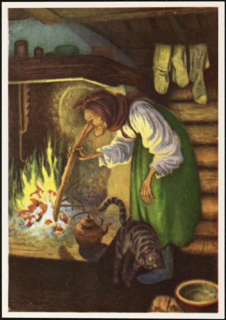 Theodor Kittelsen, Kjerringa ved peisen