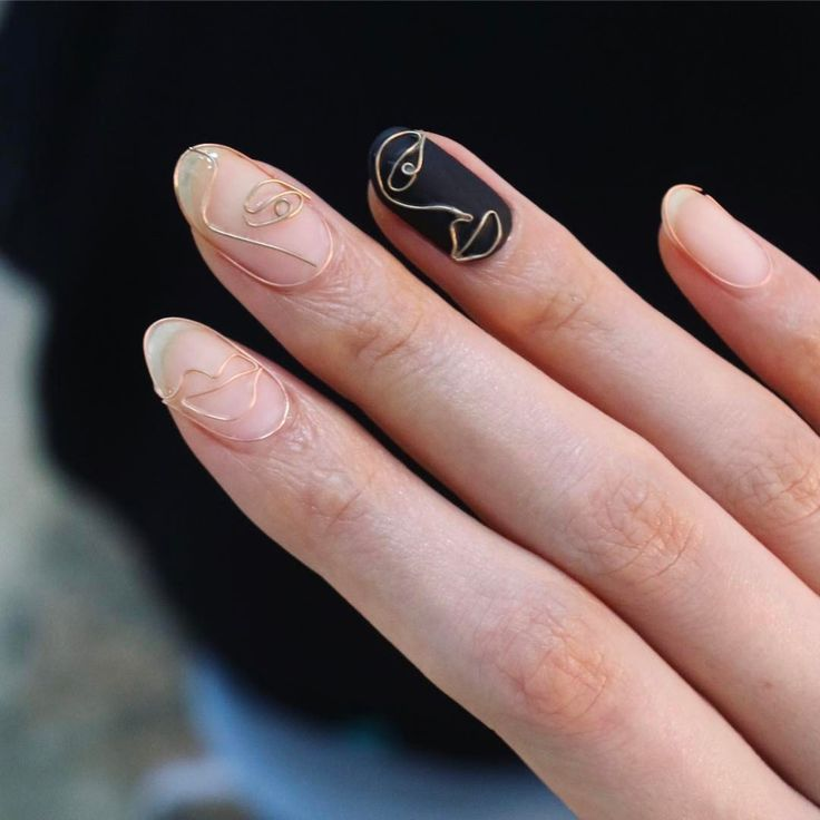 Find out how to do the wire nail art trend, a polish-free, metallic manicure dev…