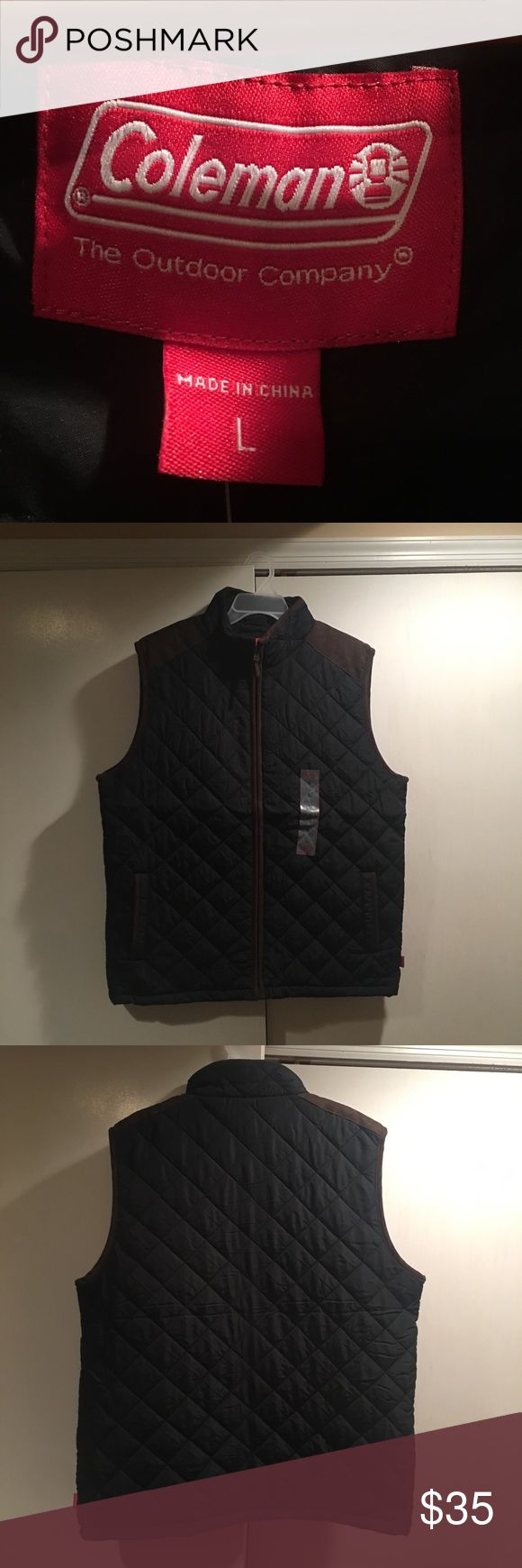 New Coleman Outdoor Company Bubble Vest/Jacket! Brand new! Never worn before! Jackets & Coats Vests