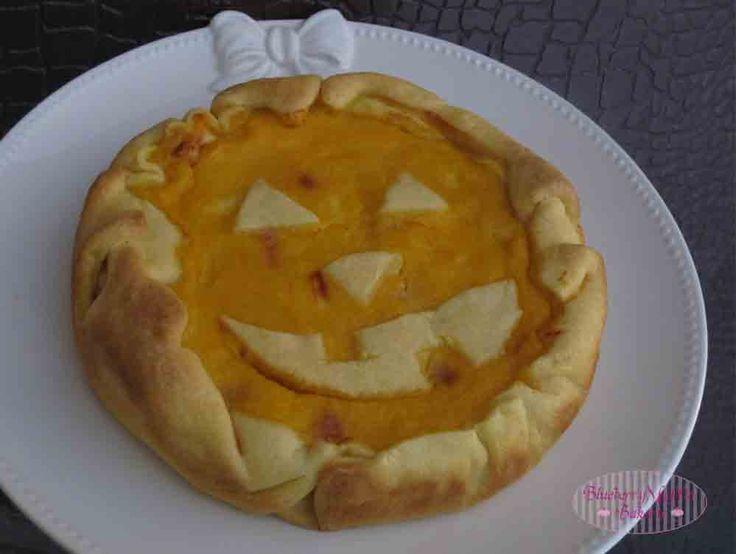 Torta salata Jack O'Lantern