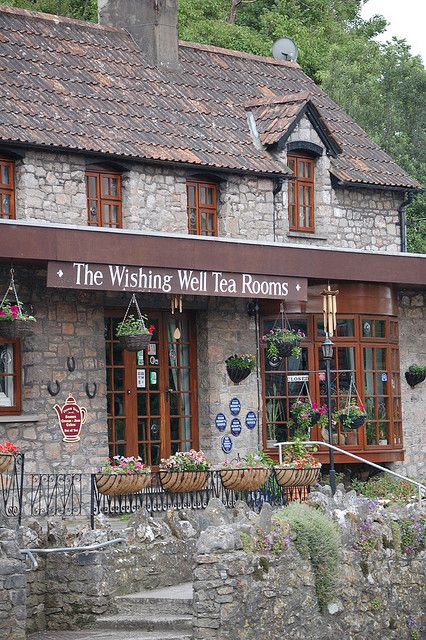 Wishing Well Tea Rooms in  Cheddar Gorge Wishing Well   by John... in London, via Flickr