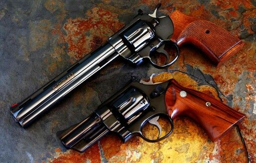 Colt Python Smith & Wesson model 27