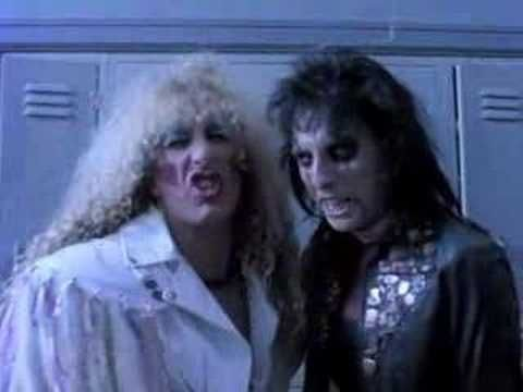 Twisted Sister & Alice Cooper - Be chrool to your scuel - 1985