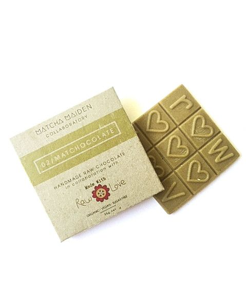 Collaboratory 2nd edition: Raw Vegan Matchocolate *PRE-ORDER*