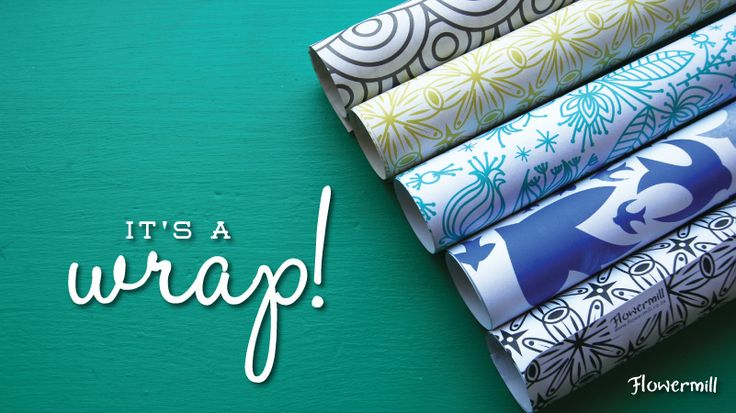 Check out our beautiful gift wrap for every occasion at www.flowermill.co.za
