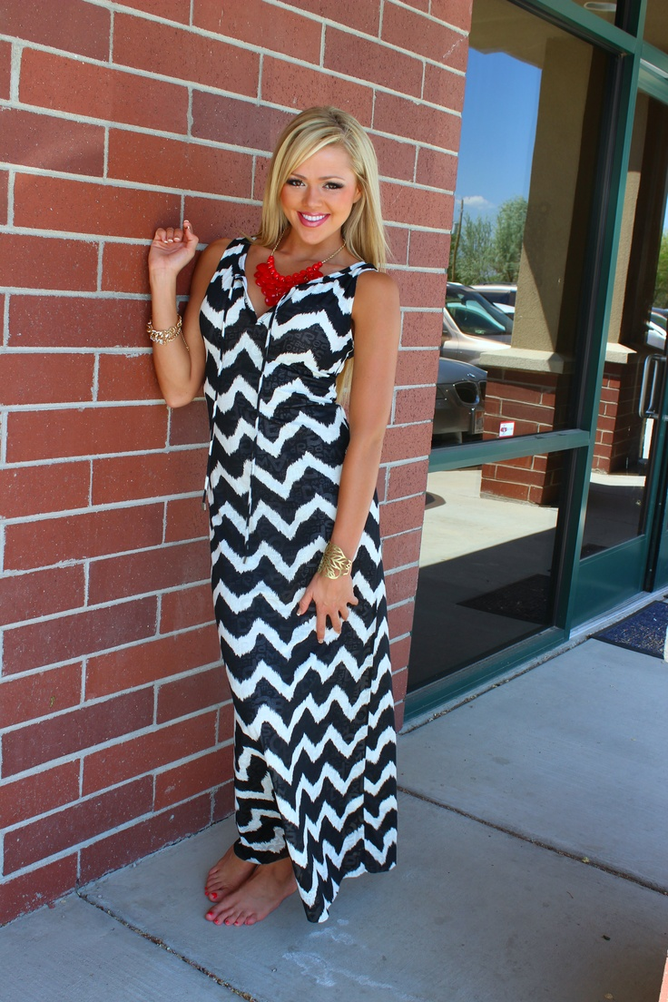 Chevron Maxi~ Win this Maxi. Simply Re-Pin it! Winner gets picked Monday 10th! Dress will go live for sale 6/5/13    www.modernvintage...