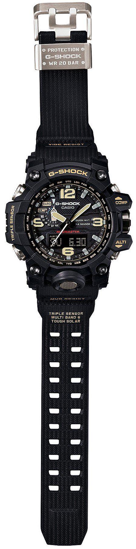 Amazon.co.jp: [カシオ]CASIO 腕時計 G-SHOCK MUDMASTER 世界6局対応電波ソーラー GWG-1000-1AJF メンズ: 腕時計通販