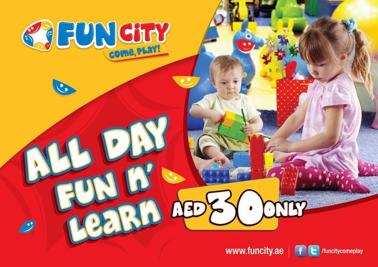 All Day Fun n' Learn for AED 30 only!