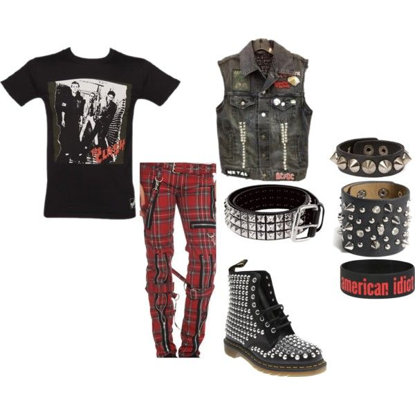 Another Punk Rock Outfit | Outfits I Need | Pinterest | Pants Punk Rock Outfits And The Clash