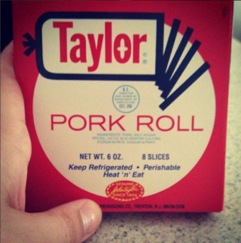 Try This: Taylor Pork Roll, the pride of Trenton, N.J. (but sometimes available in Florida)..  There's a lot to love about New Jersey food — hoagies, diners and pizzas the size of cars — but here's one thing you might be unaware of: pork roll. If you're from the Garden State, you definitely know about Taylor Pork Roll, a delicious breakfast meat from Trenton, N.J.
