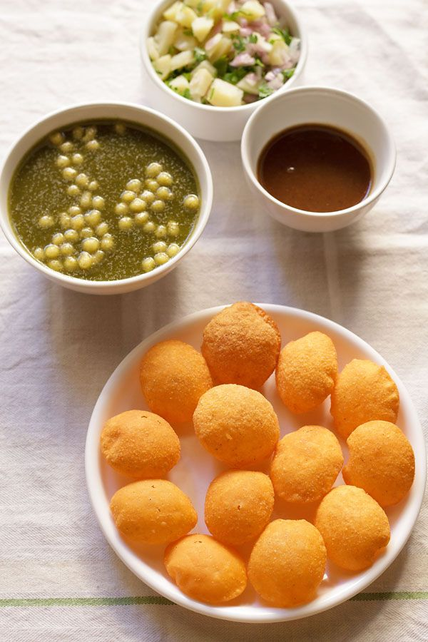Pani Puri- cooked all of the filling ingredients, tastes like it needs some additional spice, maybe not when served with tamarind water