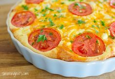 Breakfast Quiche   Slimming Eats - Slimming World Recipes