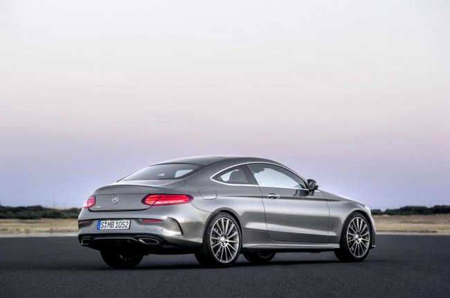 Mercedes Benz's New C-Class Coupe Will Hit Dealerships in December
