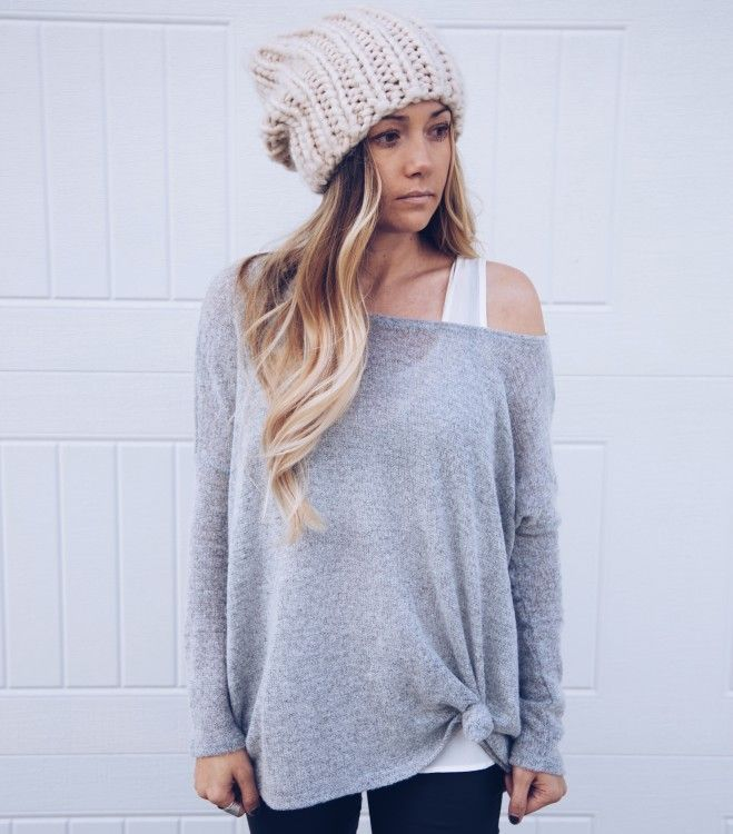 Off The Shoulder Sweater