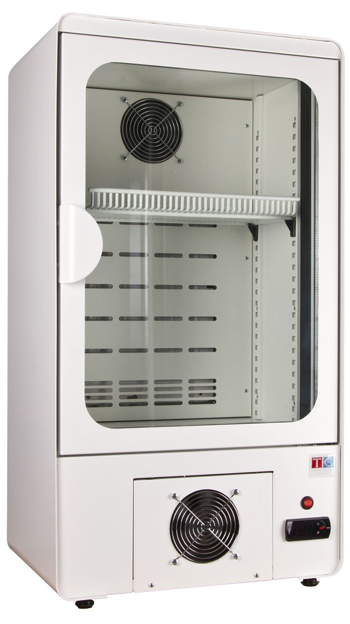 NC-63 - Glass door cooler with white external cover #cooler #white #drinks