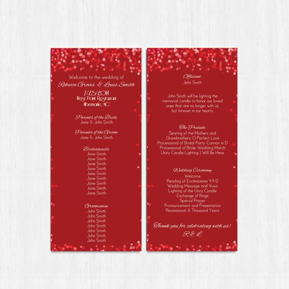 The 25+ best Wedding program examples ideas on Pinterest - wedding agenda sample