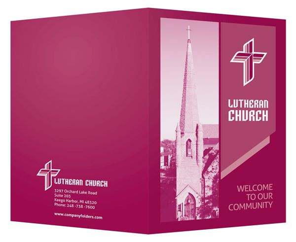 Best Church Welcome Packet Folders Images On   Folder
