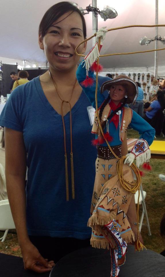 art and native American artist Charlene Holy Bear