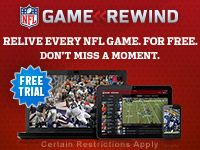 NFL Gamecenter, stay up to date with game schedules and scores!