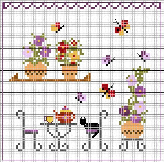 pixel art - pinned mostly for the teapot but much of the other elements could work for pixel art except the ones requiring the thin outlining lines (they would have to be altered or omitted)