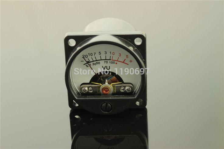 1 Piece 500VU Panel VU Meter Audio Level Meter 6-12 V Audio Tingkat Dengan BackLight Gratis Pengiriman Hangat