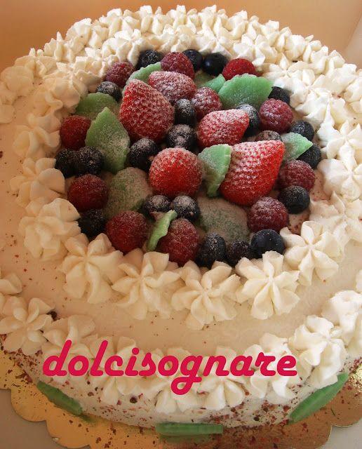 Italian cakes recipes: Torta ai frutti di bosco