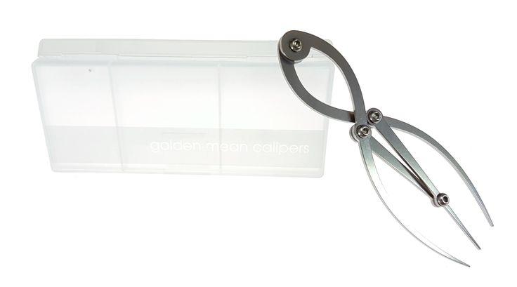 Small Golden Ratio Compass  - polyprop case