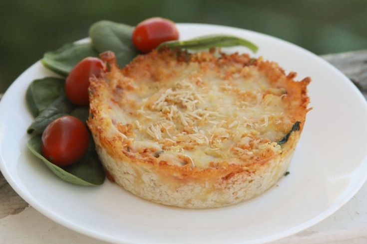 pizza pot pie | Low carb recipes | Pinterest
