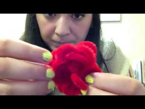 DIY: Pipe Cleaner Flower.Ring, My Crafts and DIY Projects