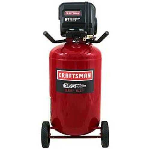Craftsman 33 Gallon Quiet Vertical Air Compressor 165psi.  On sale at Sears.com for $349