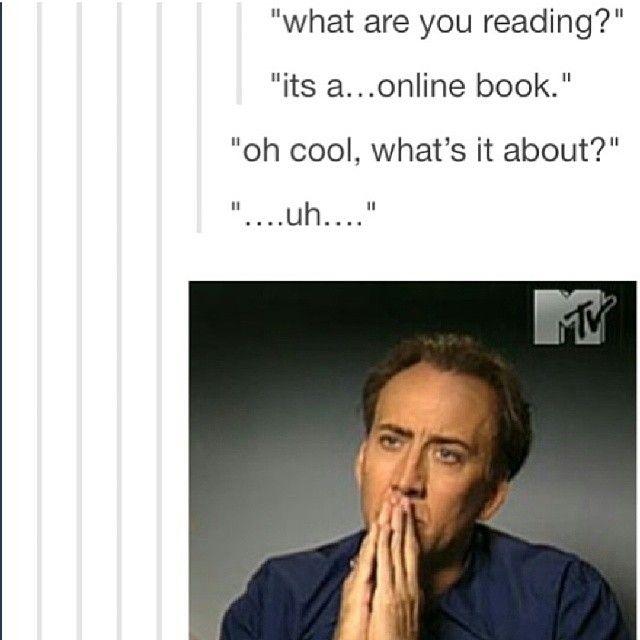 *laughs awkwardly* um...