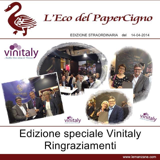 Papercigno by Le Manzane - Vinitaly - Edizione straordinaria