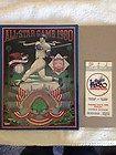 1980 Baseball All Star Game Ticket Stub and Program Dodger Stadium - 1980, Baseball, DODGER, Game, PROGRAM, Stadium, STAR, STUB, ticket