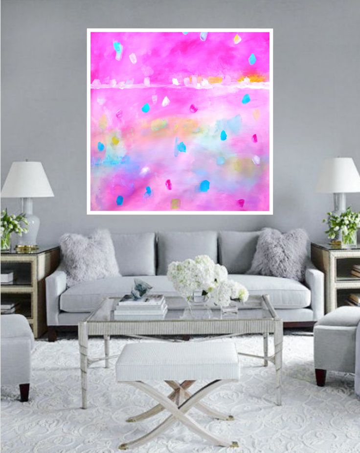 The 36 best Modern Square Large Abstract Painting Print Printable ...