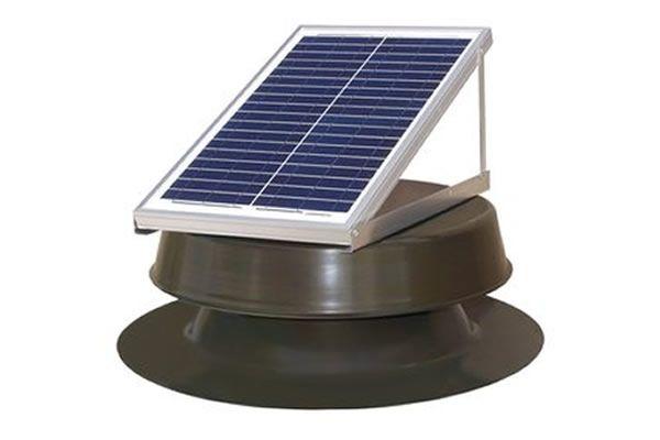 Attic Fan Installation In 2020 Solar Attic Fan Attic Fan Fan Installation