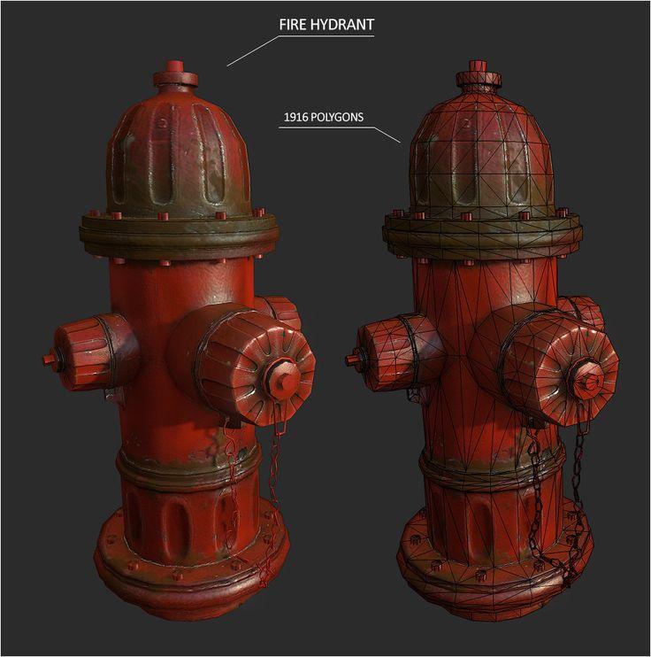 Fire hydrant, Malte Sturm on ArtStation at http://www.artstation.com/artwork/fire-hydrant-0f75a5d4-bfdf-46cb-9dfd-bd107eaeee20