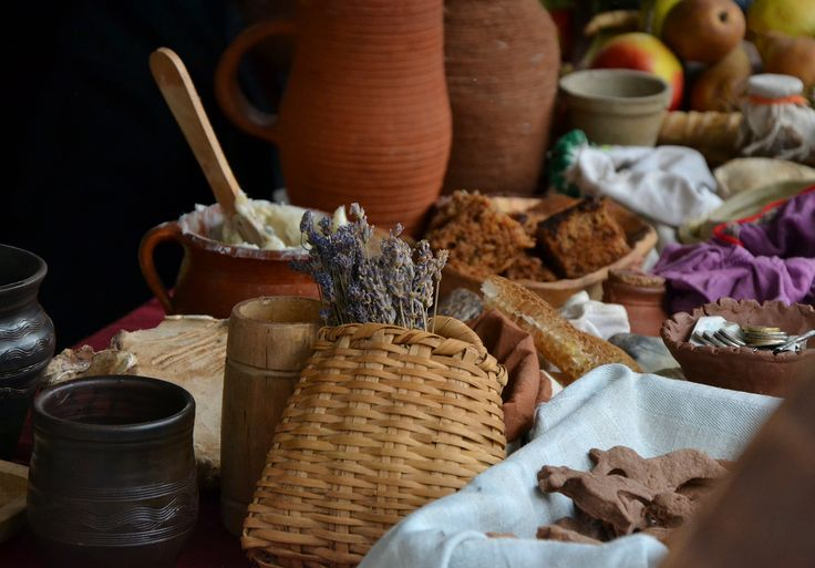 Traditional food. Kupala's Night 2014.