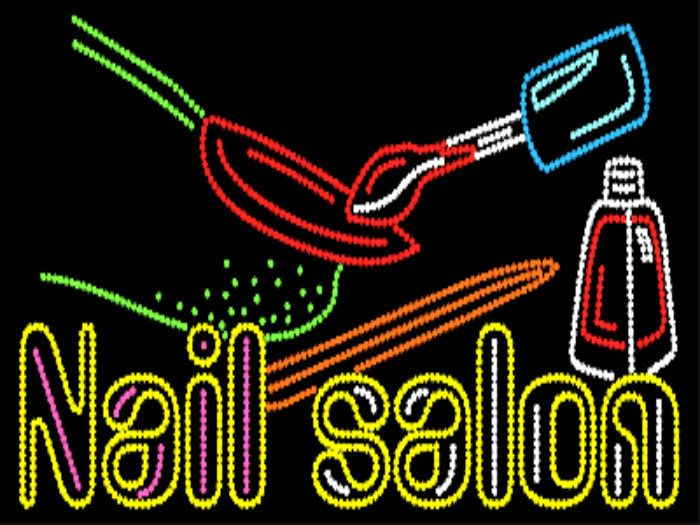 nail salon sign - Google Search