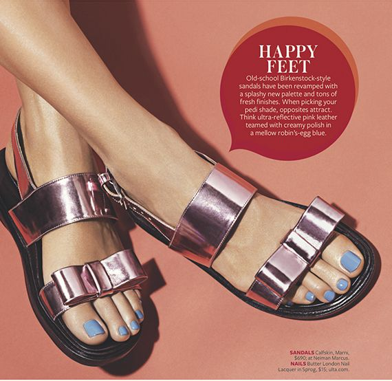Butter London nail laqeur in sprig 15$.. M.P. Nails | INSTYLE MAGAZINE