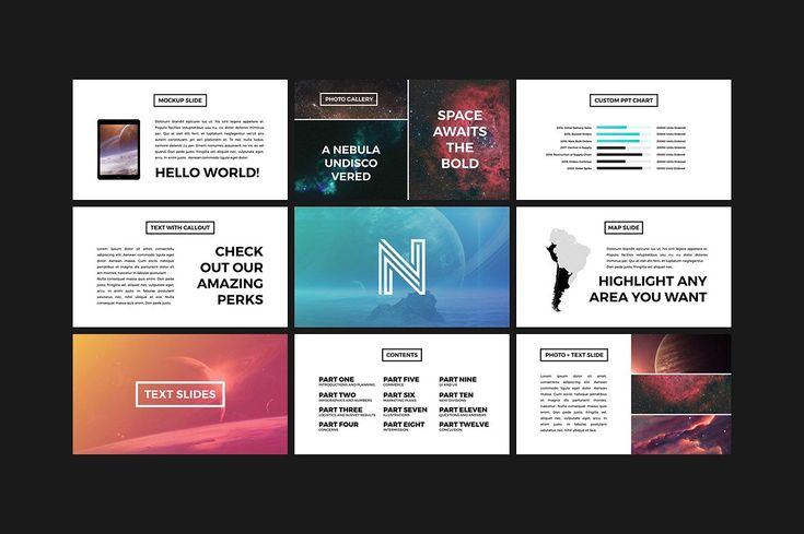 Neptune - Creative Presentation by Tugcu Design Co. on @creativemarket