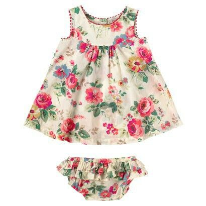 Cath Kidston - Clarendon Rose Baby Dress