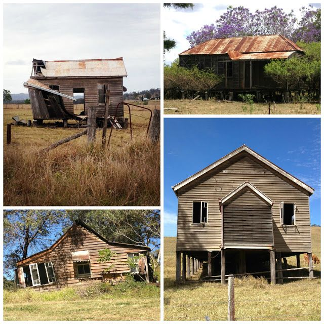 Derelict buildings in Queensland, Australia.