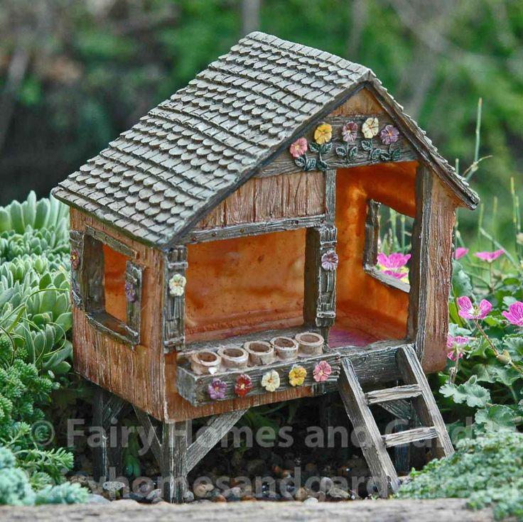 Fairy Homes and Gardens - Fairies Fun House, $35.49 (http://www.fairyhomesandgardens.com/fairies-fun-house/)
